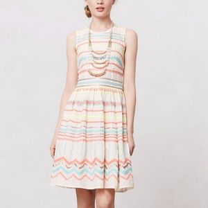 TRACY REESE Anthropologie Natural Sunglow dress